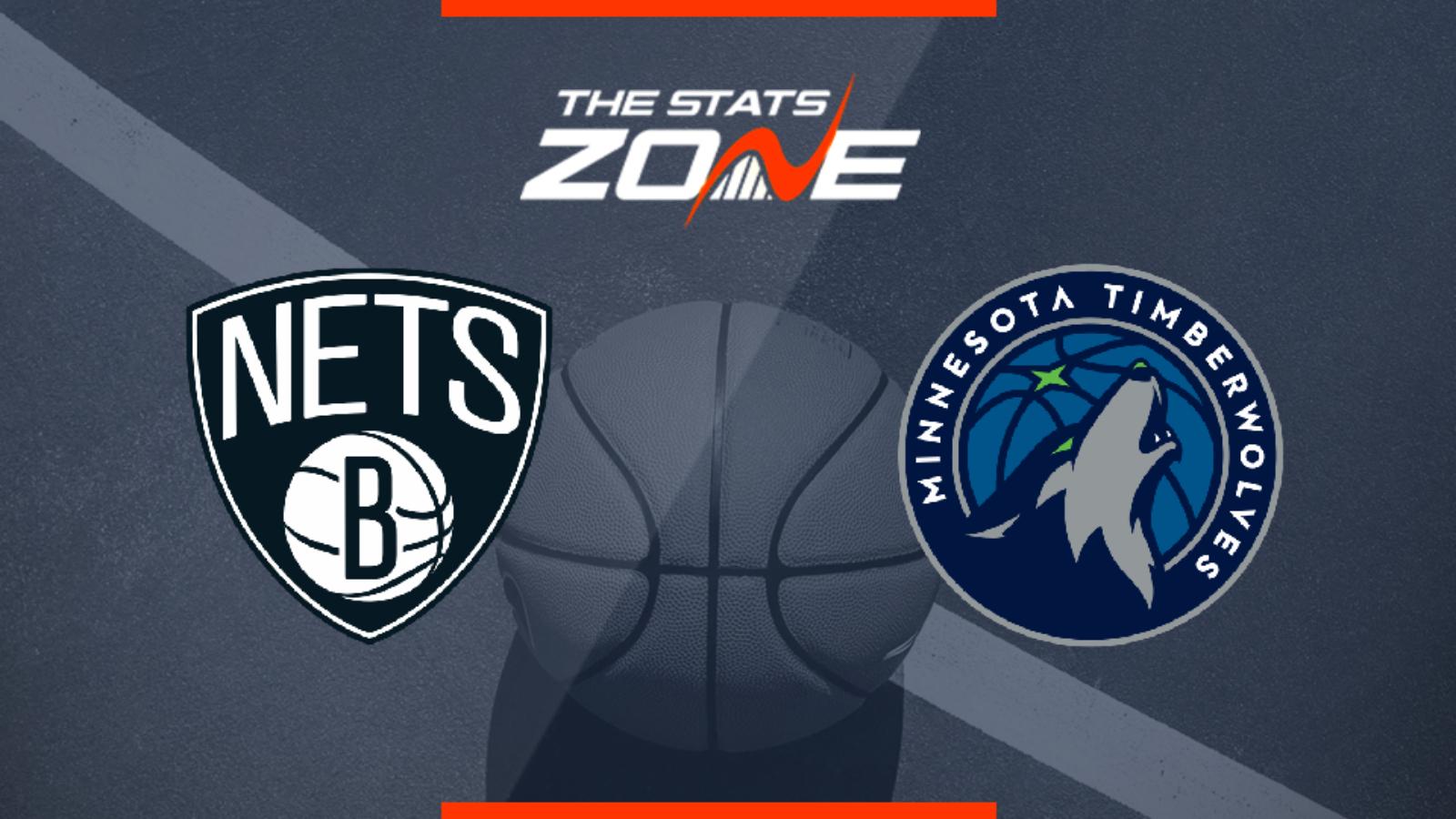 2019 20 Nba Minnesota Timberwolves Brooklyn Nets Preview