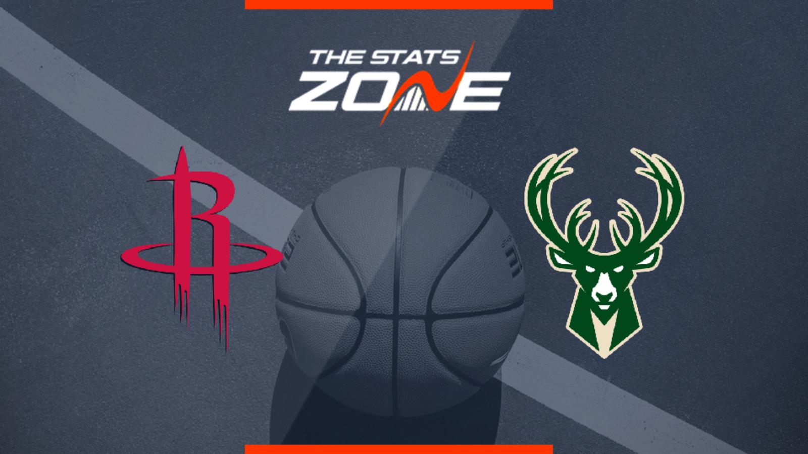 2019 20 Nba Milwaukee Bucks Houston Rockets Preview