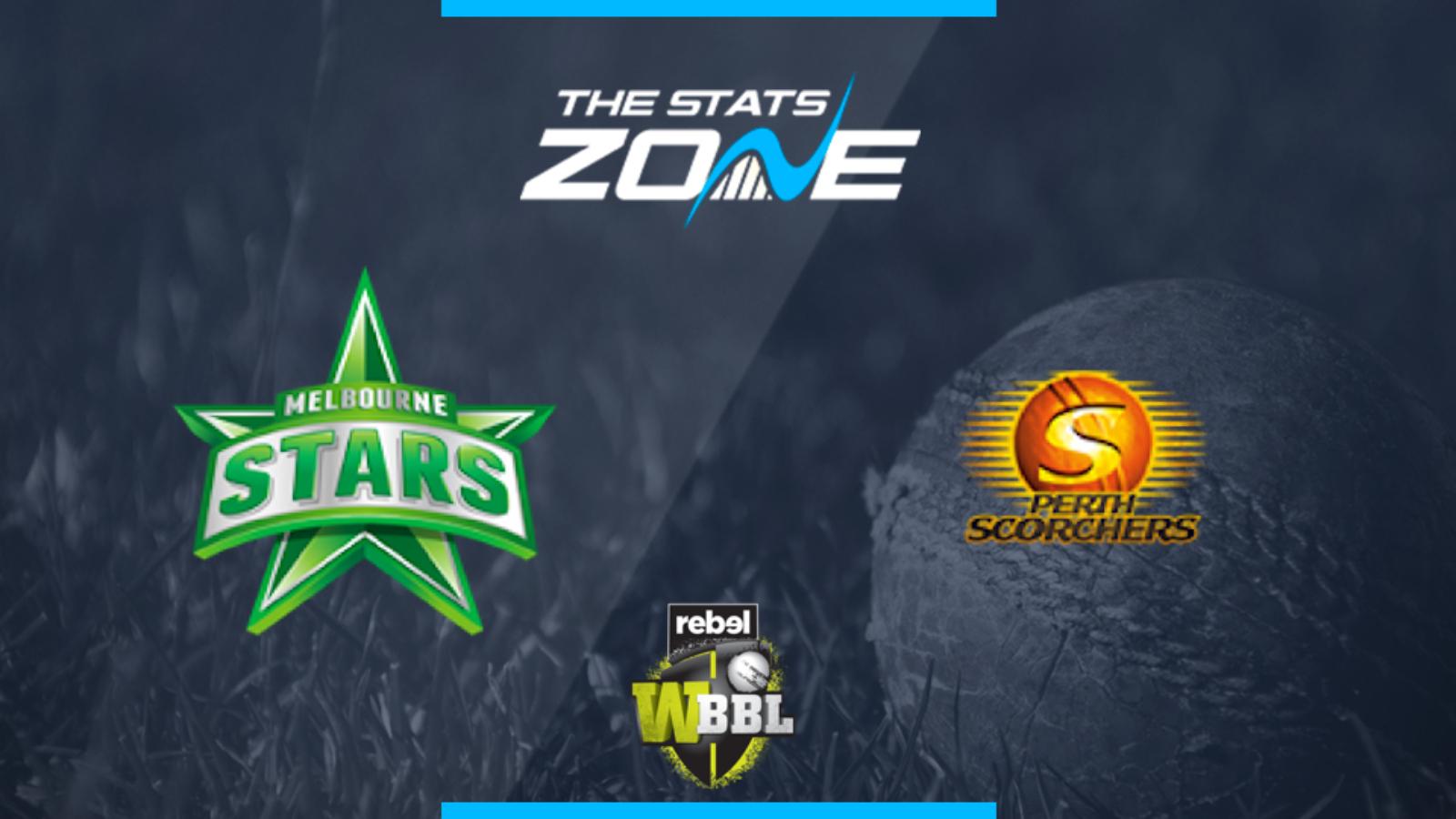 2019 Women's Big Bash League – Melbourne Stars Women vs Perth Scorchers Women Preview & Prediction - The Stats Zone