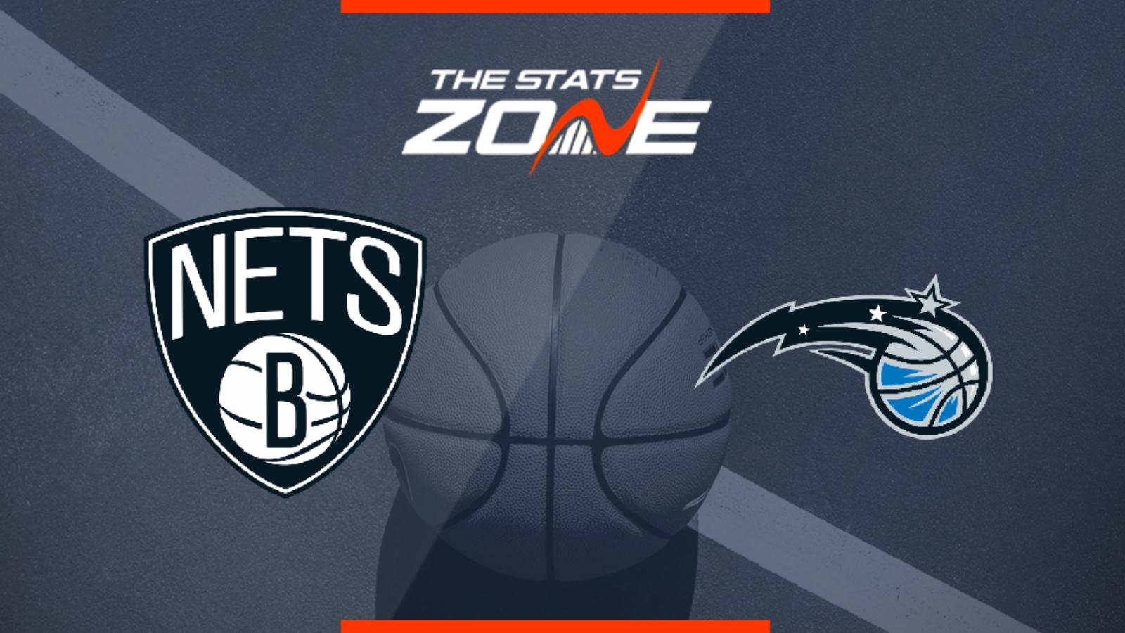 2019 20 Nba Brooklyn Nets Orlando Magic Preview Pick The Stats Zone