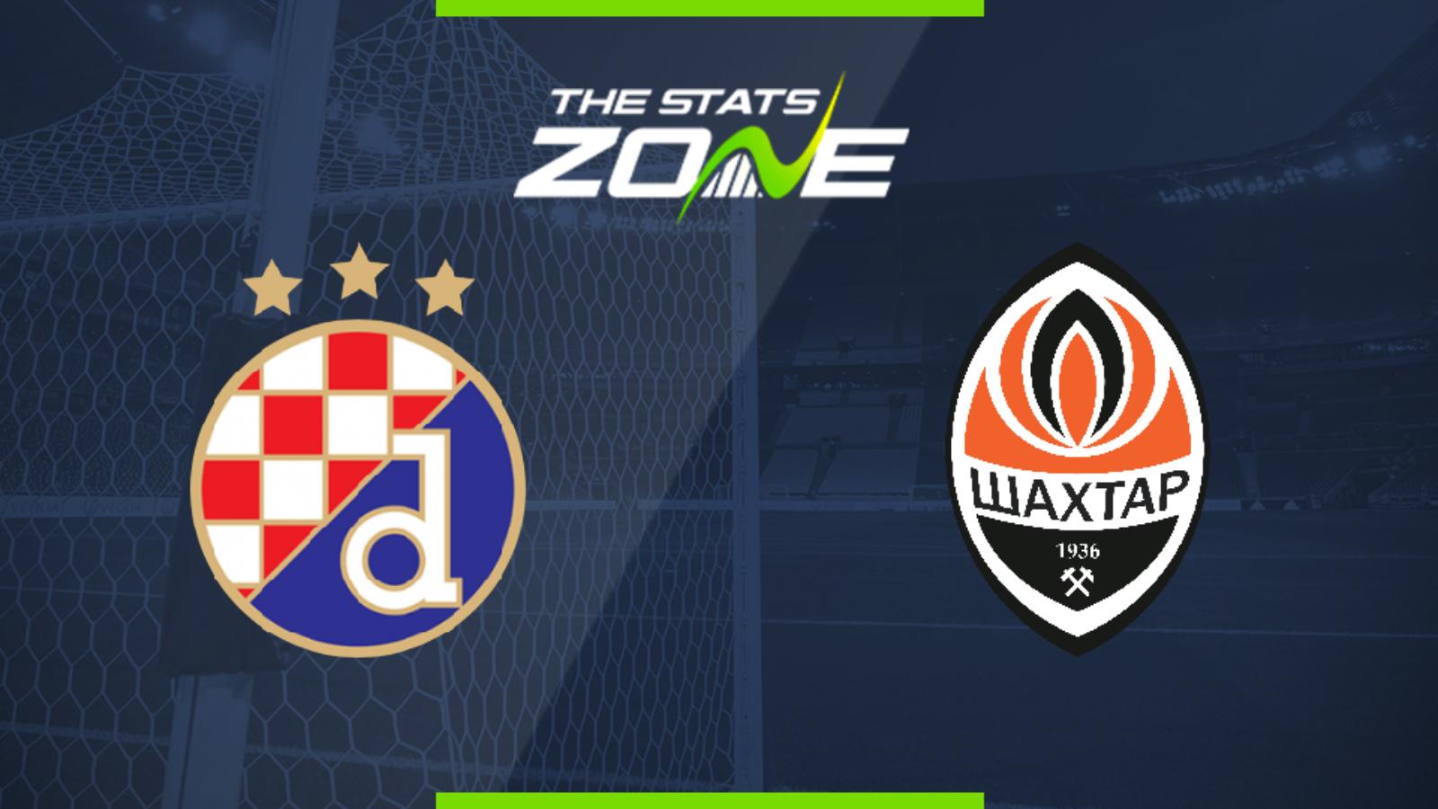 2019 20 Uefa Champions League Dinamo Zagreb Vs Shakhtar Donetsk Preview Prediction The Stats Zone