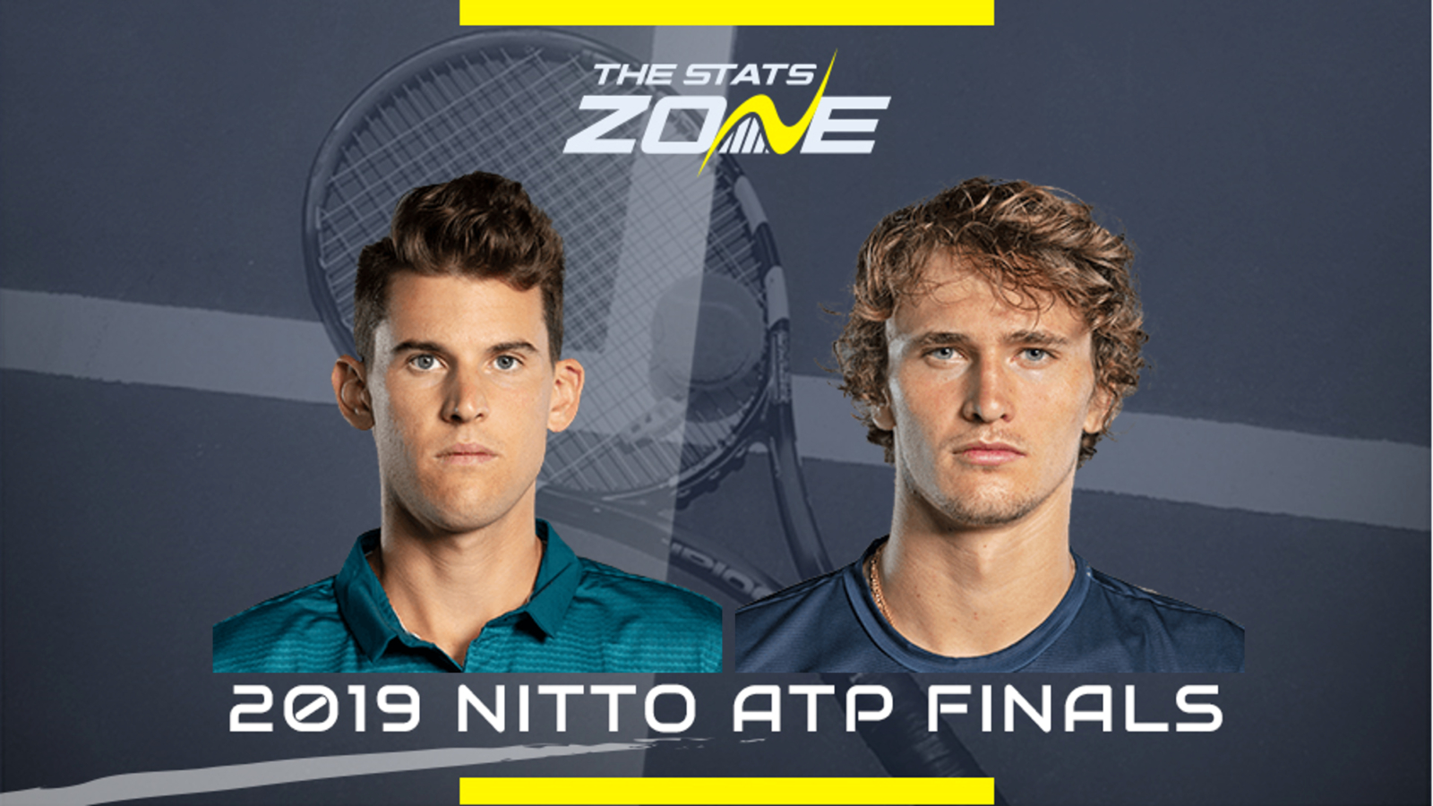 Atp Finals 2019 Dominic Thiem Vs Alexander Zverev Preview Prediction The Stats Zone
