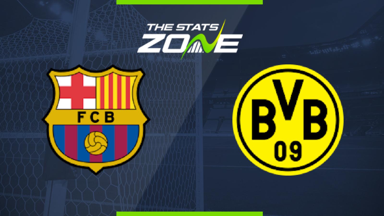 2019 20 Uefa Champions League Barcelona Vs Borussia