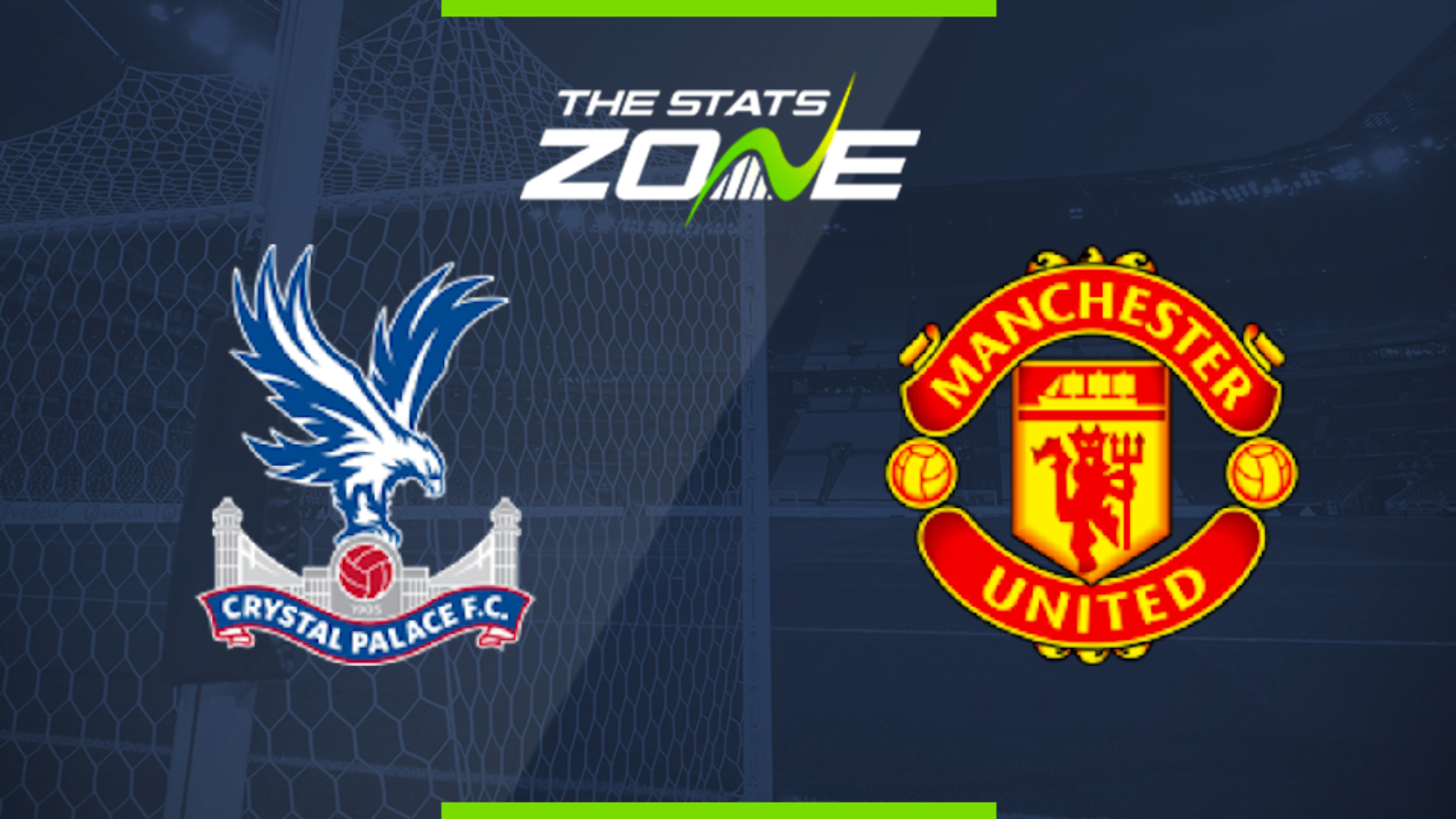 2019 20 Premier League Crystal Palace Vs Man Utd Preview Prediction The Stats Zone