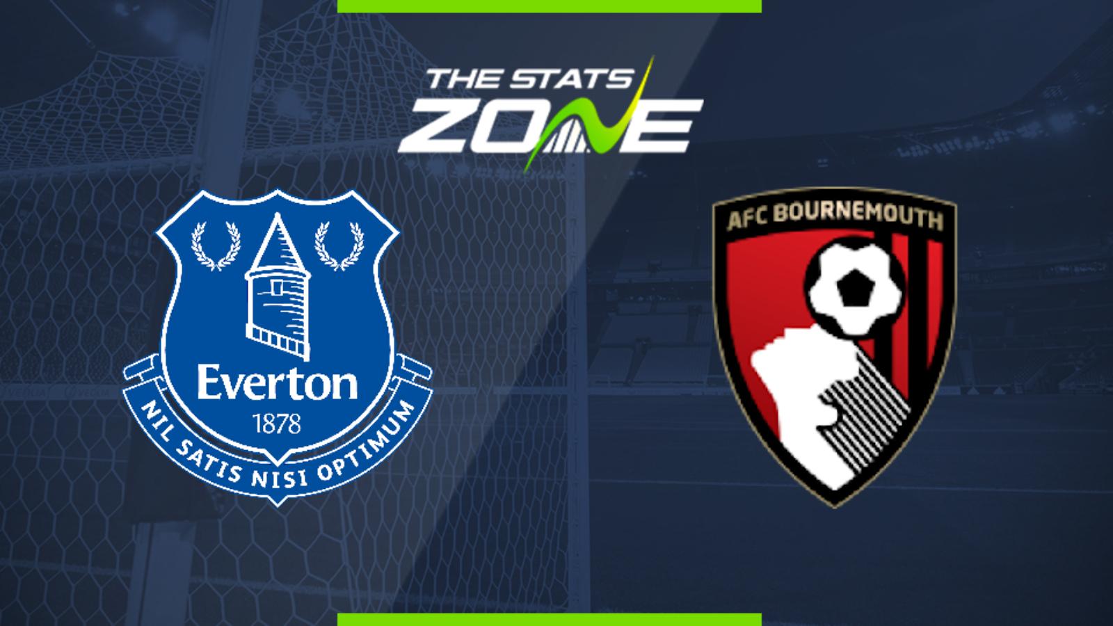 2019-20 Premier League – Everton vs Bournemouth Preview ...
