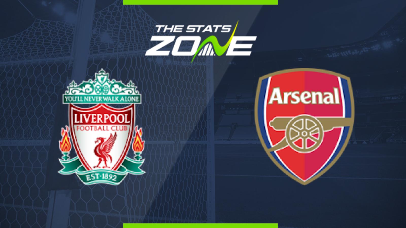 Premier League 2019 20 Liverpool Vs Arsenal Preview Prediction The Stats Zone