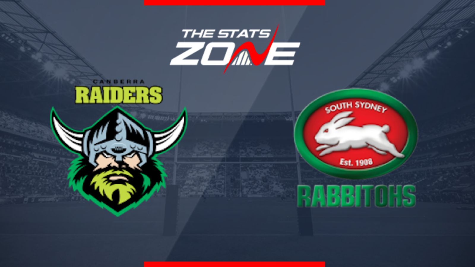 2019 Nrl Canberra Raiders Vs South Sydney Rabbitohs Preview Prediction The Stats Zone