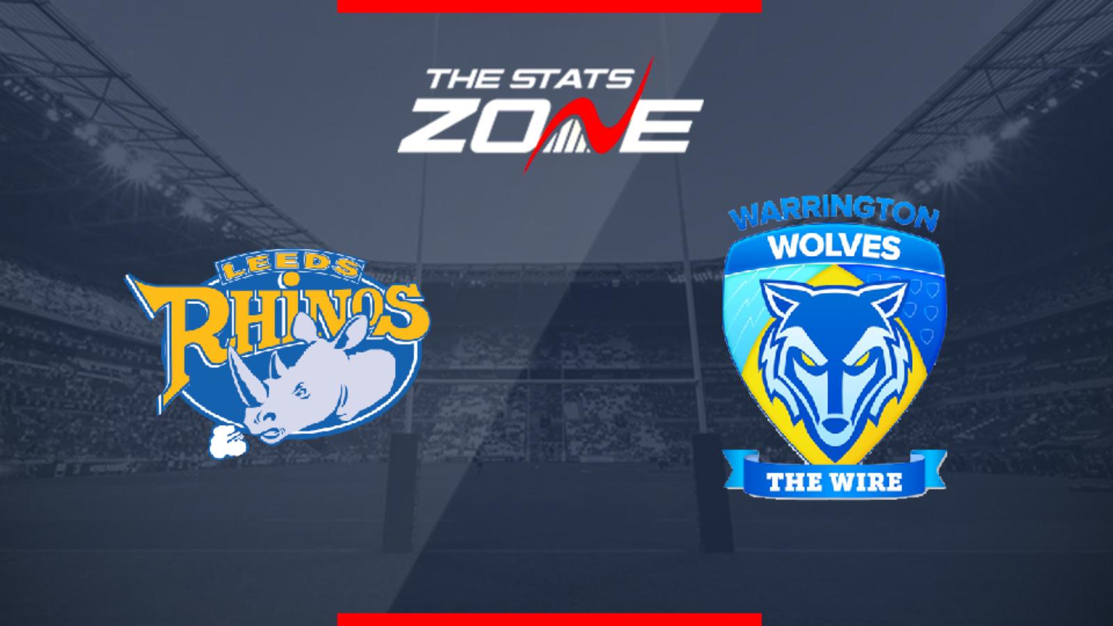 leeds rhinos v warrington wolves betting preview nfl