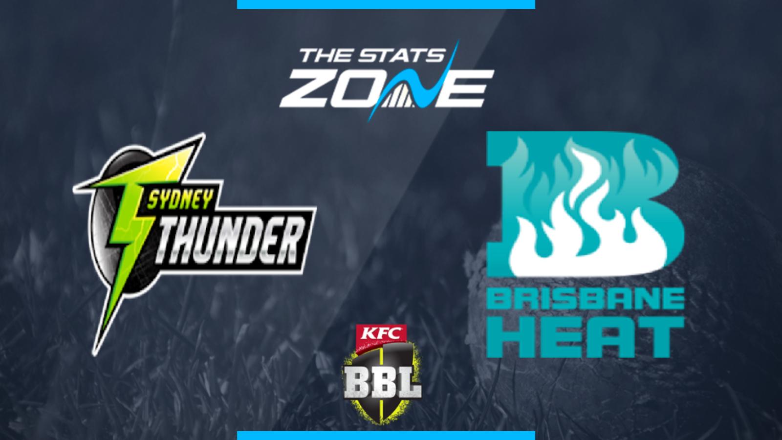 sydney thunder vs brisbane heat betting preview
