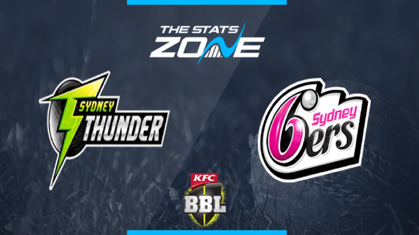 sydney sixers vs sydney thunder - photo #1