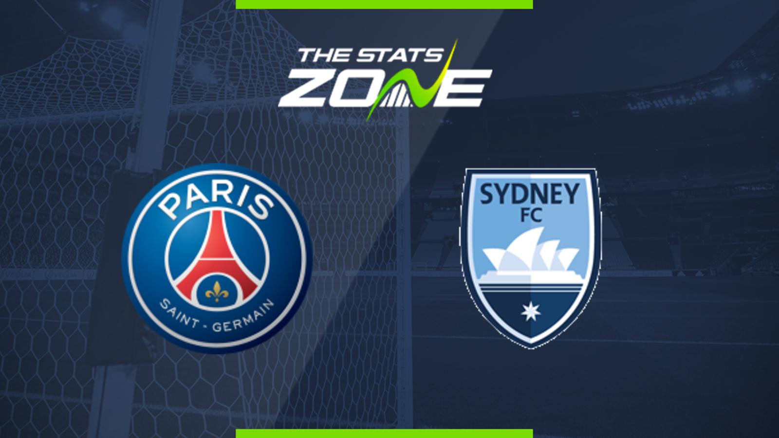 Paris Saint-Germain vs Sydney FC Pre-Season Friendly Preview