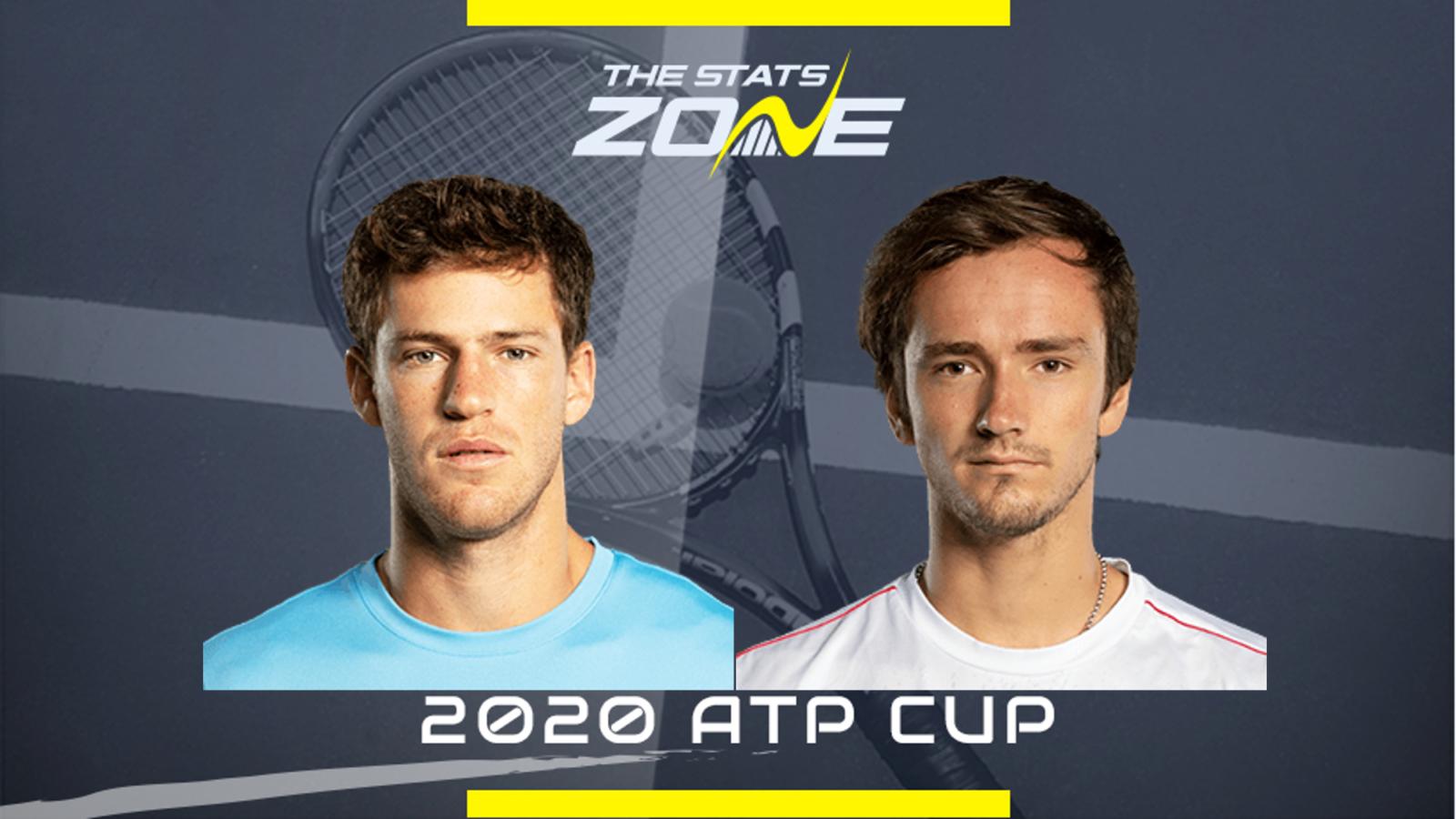 Atp Cup 2020 Diego Schwartzman Vs Daniil Medvedev Preview Prediction The Stats Zone