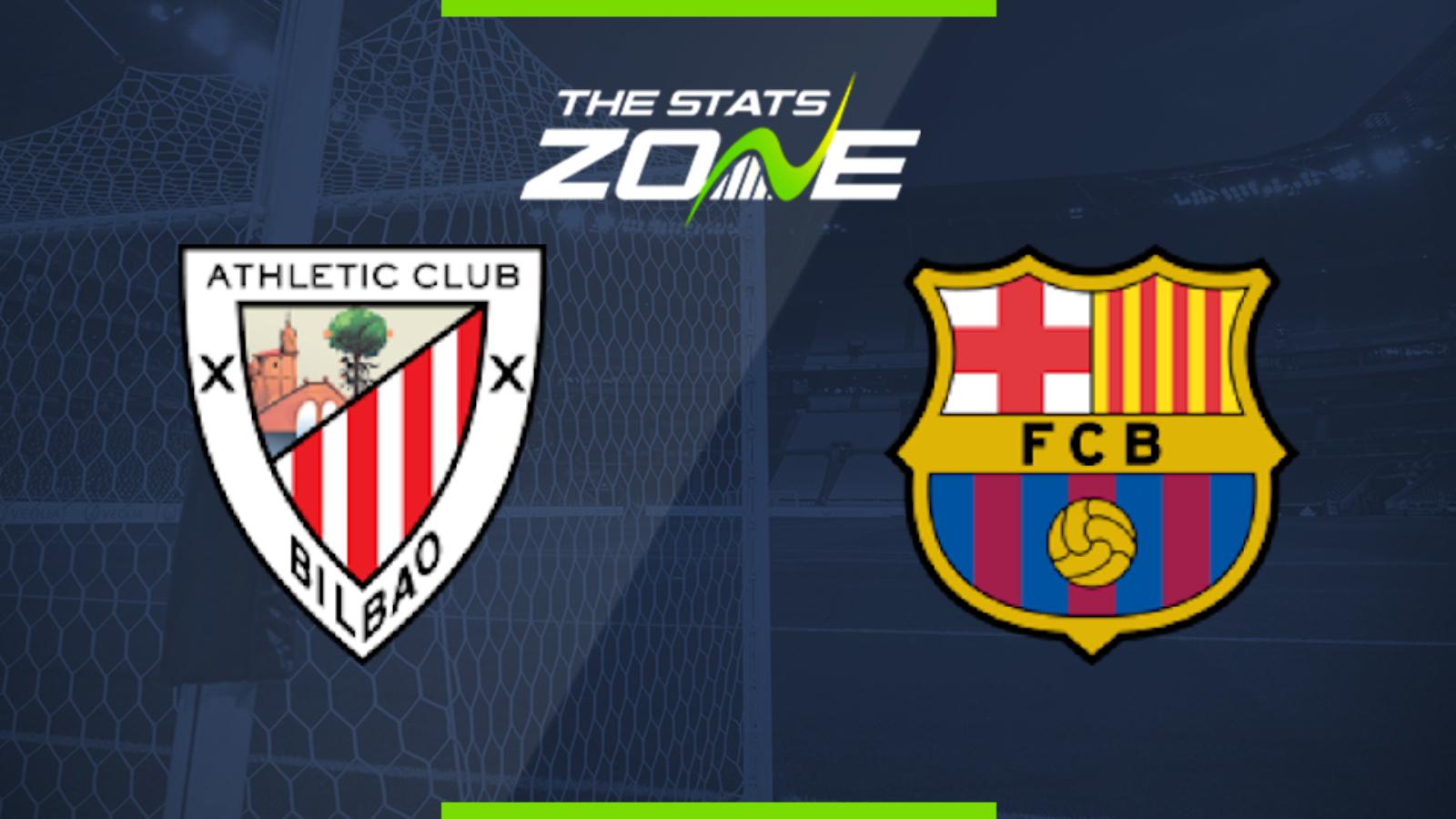 2019-20 Spanish Primera - Athletic Bilbao vs Barcelona ...