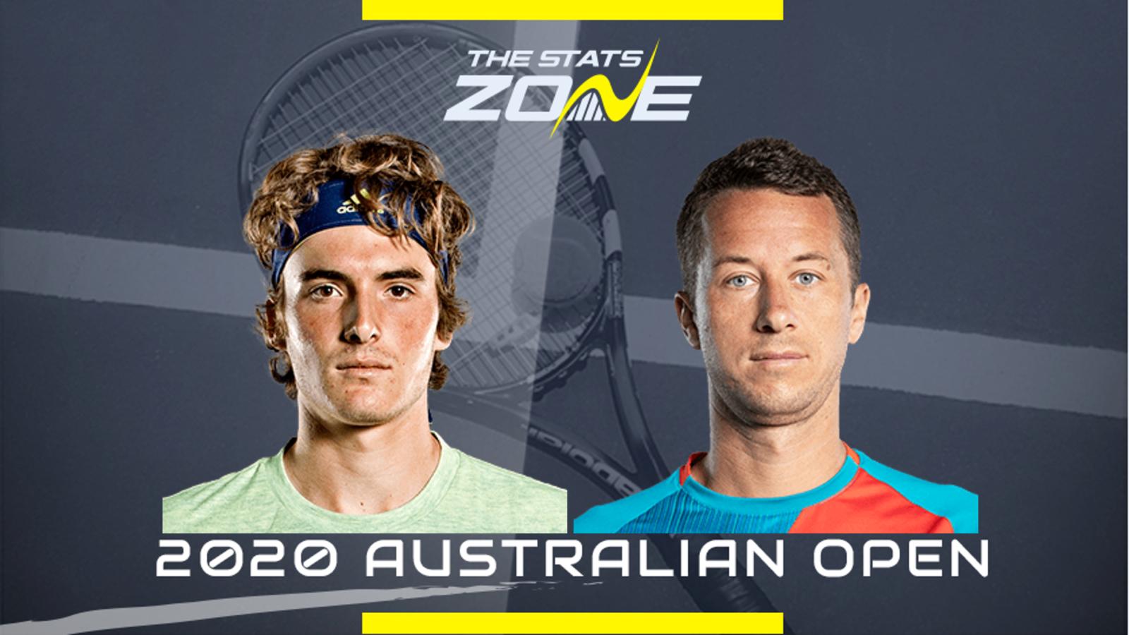 2020 Australian Open Stefanos Tsitsipas Vs Philipp Kohlschreiber Preview Prediction The Stats Zone