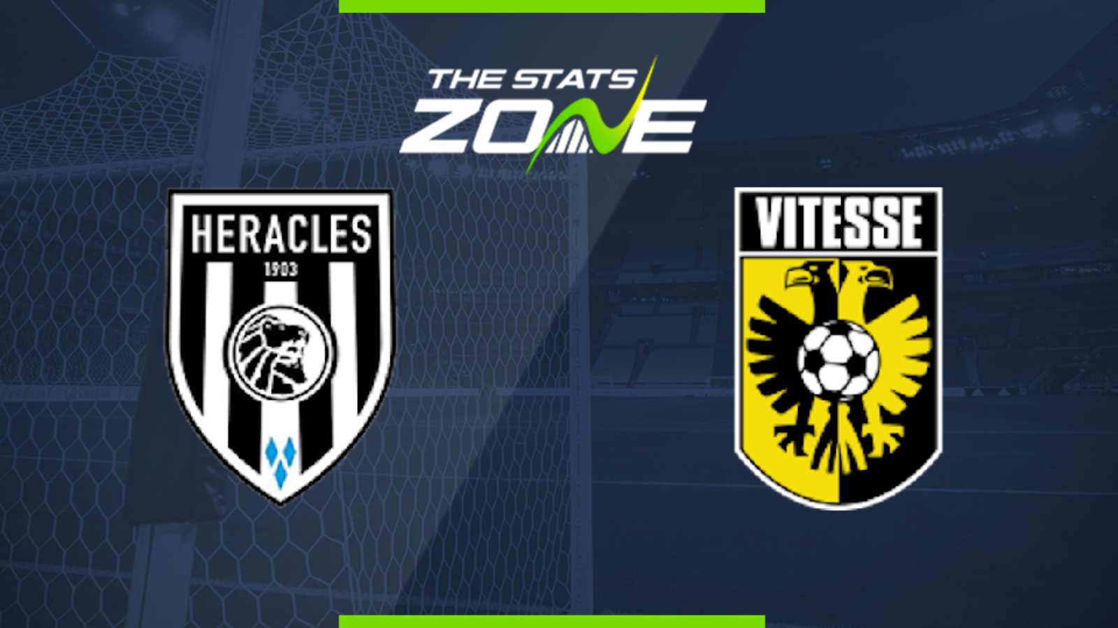 2019 20 Eredivisie Heracles Vs Vitesse Preview Prediction The Stats Zone