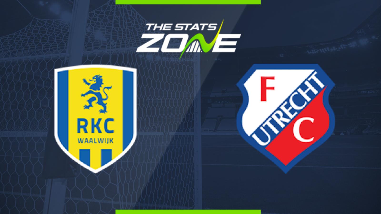 2019 20 Eredivisie Rkc Waalwijk Vs Utrecht Preview Prediction The Stats Zone