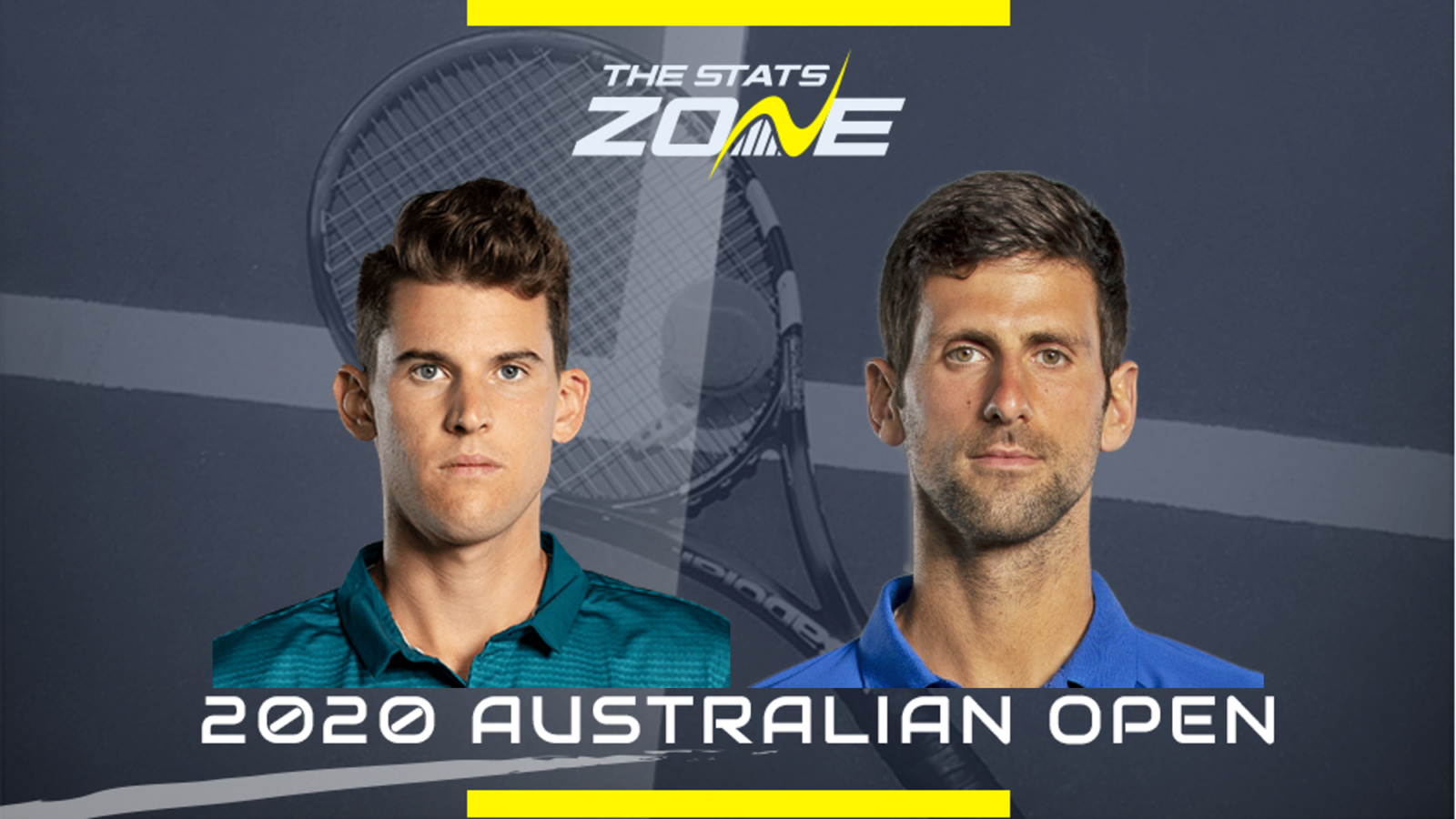 Australian Open Men's Final - Dominic Thiem vs Novak Djokovic Preview & Prediction