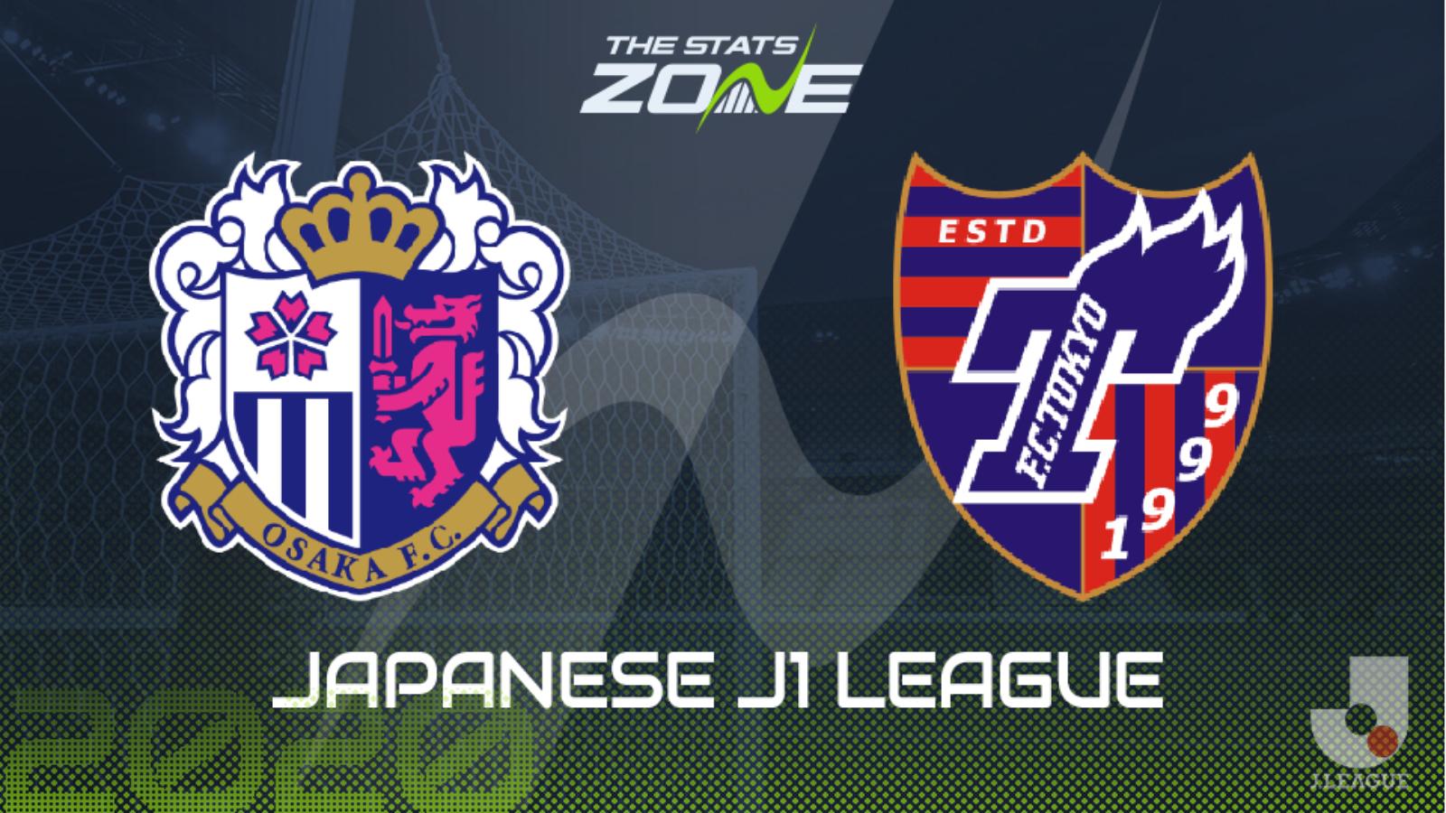 2020 Japanese J1 League Cerezo Osaka Vs Fc Tokyo Preview Prediction The Stats Zone