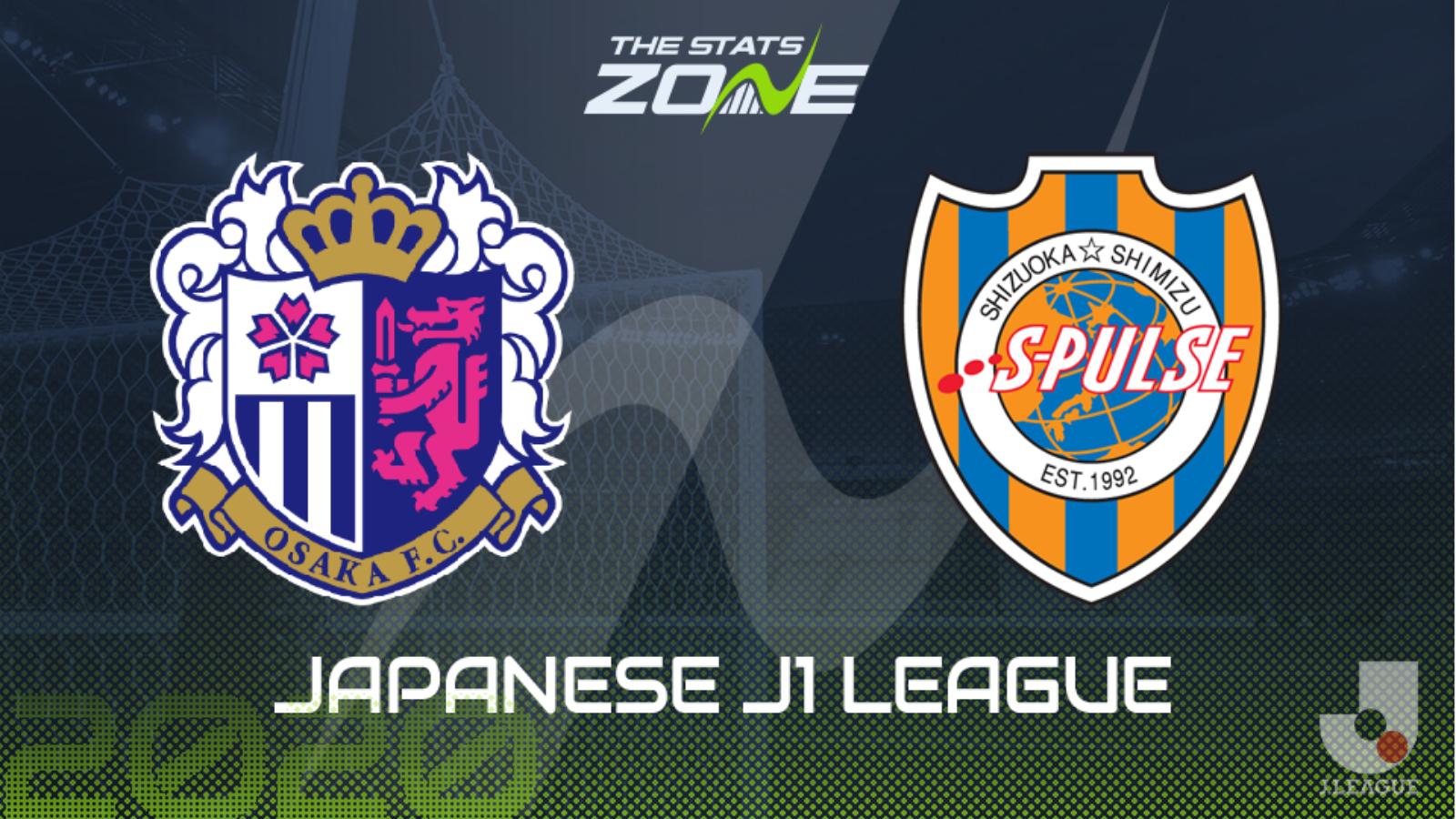 2019 20 Japanese J1 League Cerezo Osaka Vs Shimizu S Pulse Preview Prediction The Stats Zone