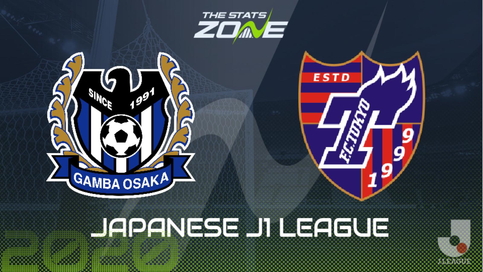 2020 Japanese J1 League Gamba Osaka Vs Fc Tokyo Preview Prediction The Stats Zone
