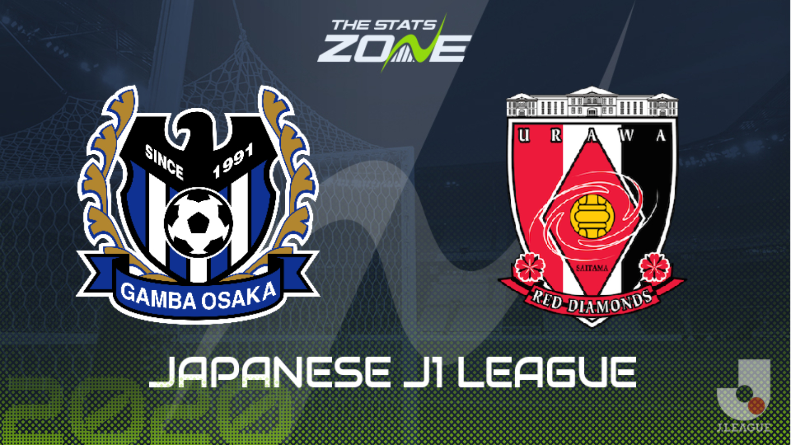 2020 Japanese J1 League Gamba Osaka Vs Urawa Red Diamonds Preview Prediction The Stats Zone