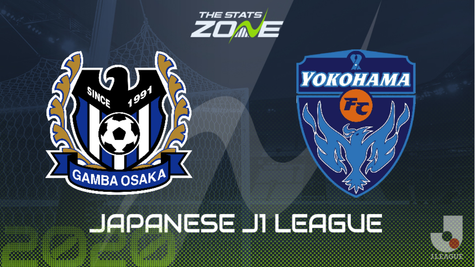 2020 Japanese J1 League Gamba Osaka Vs Yokohama Preview Prediction The Stats Zone