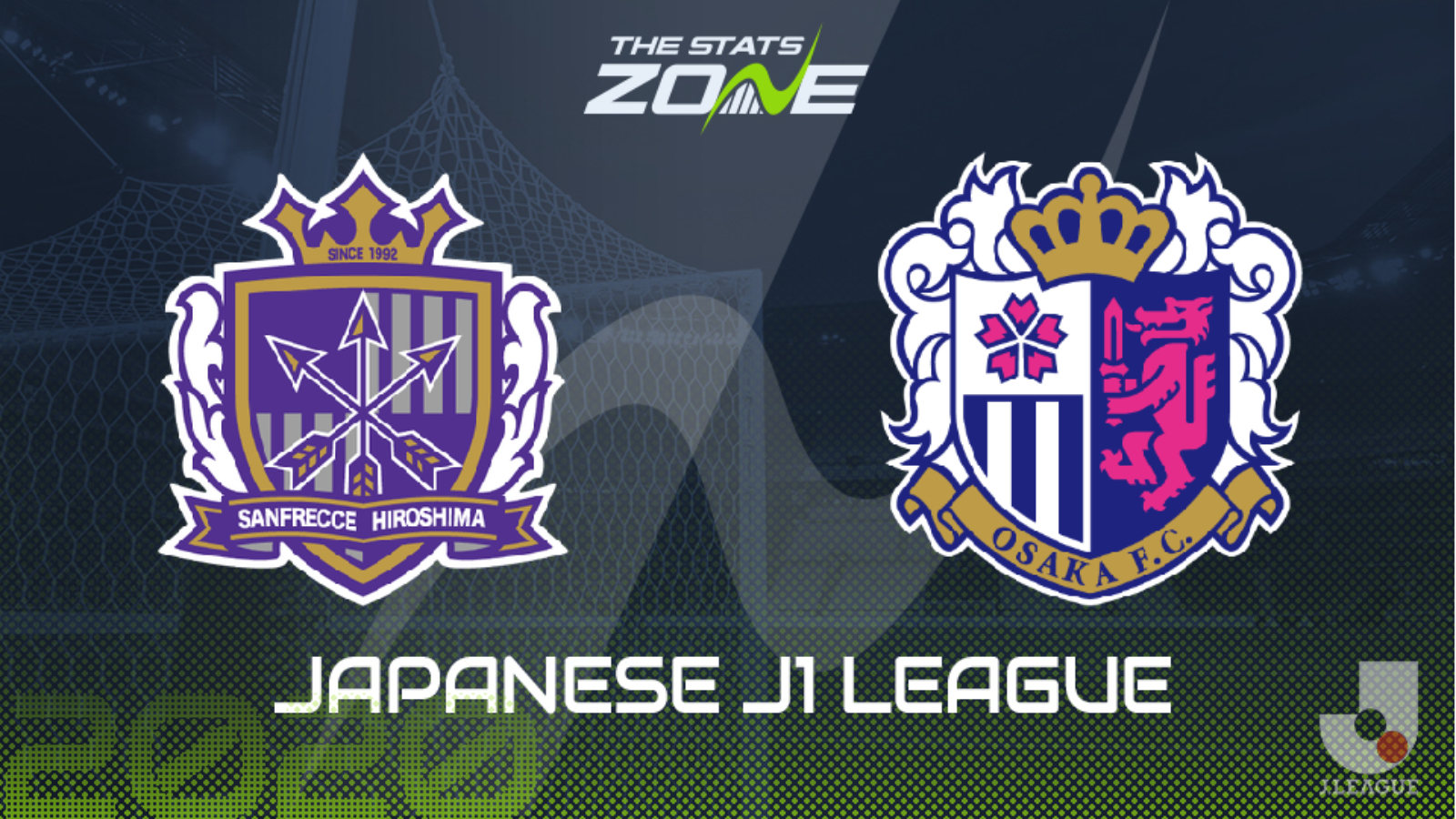 2020 Japanese J1 League Sanfrecce Hiroshima Vs Cerezo Osaka Preview Prediction The Stats Zone