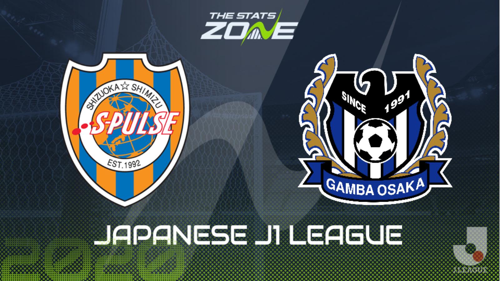 2019 20 Japanese J1 League Shimizu S Pulse Vs Gamba Osaka Preview Prediction The Stats Zone