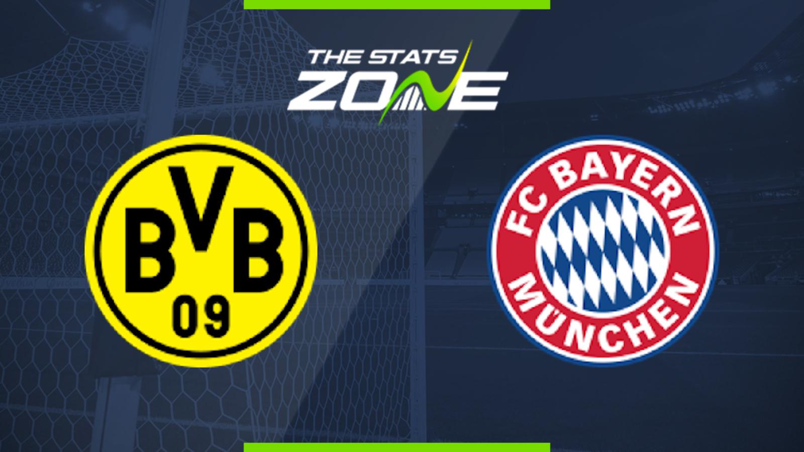 2019 20 Bundesliga U2013 Borussia Dortmund Vs Bayern Munich