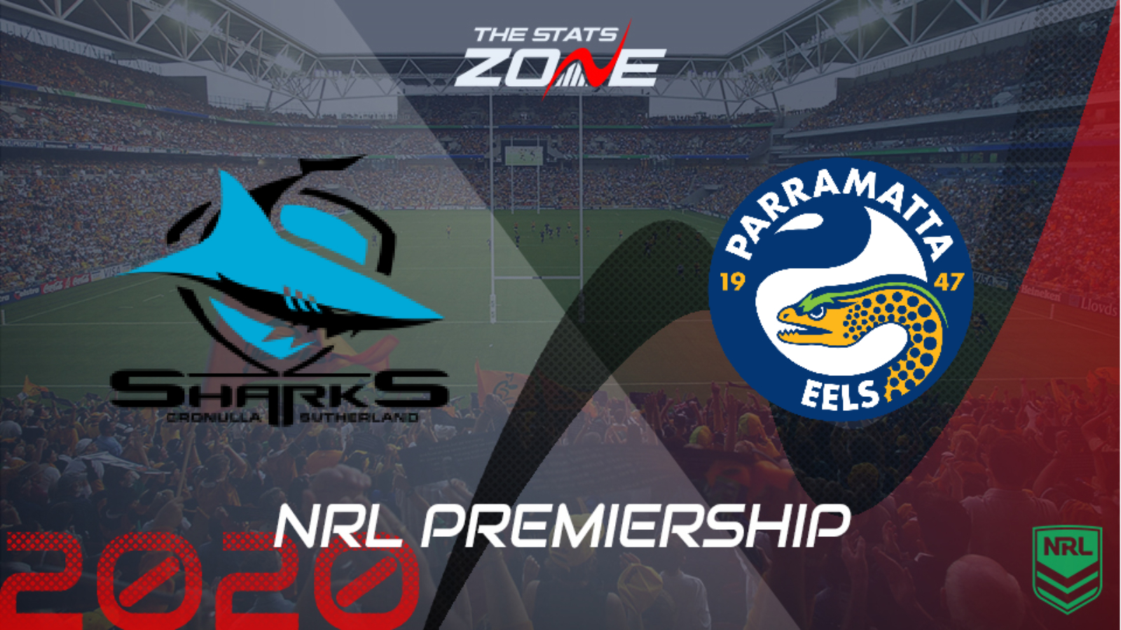 2020 Nrl Cronulla Sharks Vs Parramatta Eels Preview Prediction The Stats Zone