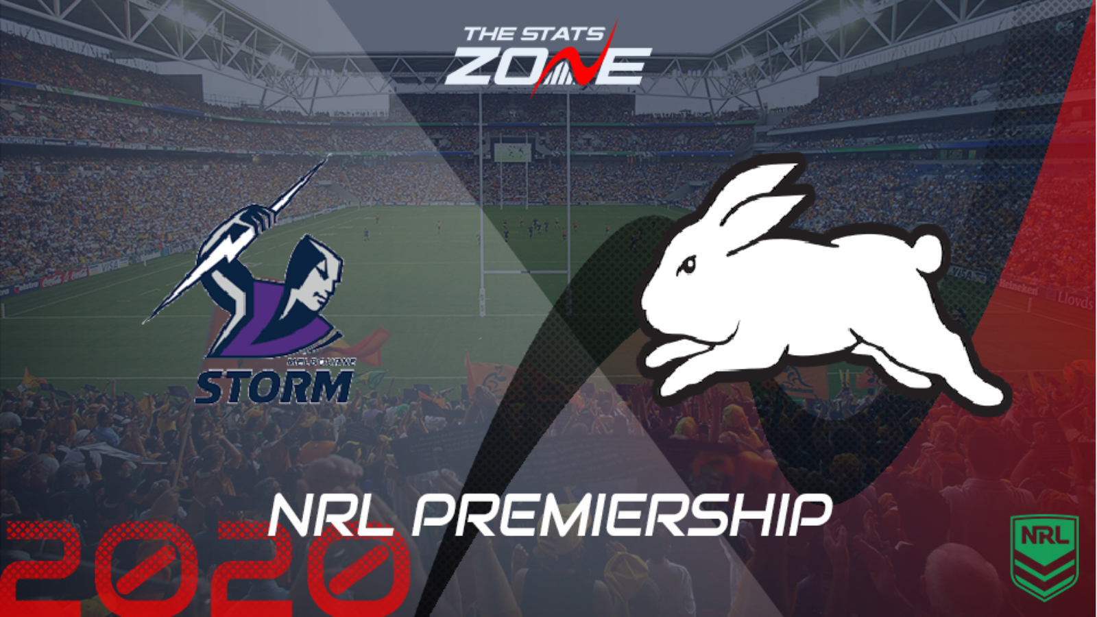 2020 Nrl Melbourne Storm Vs South Sydney Rabbitohs Preview Prediction The Stats Zone