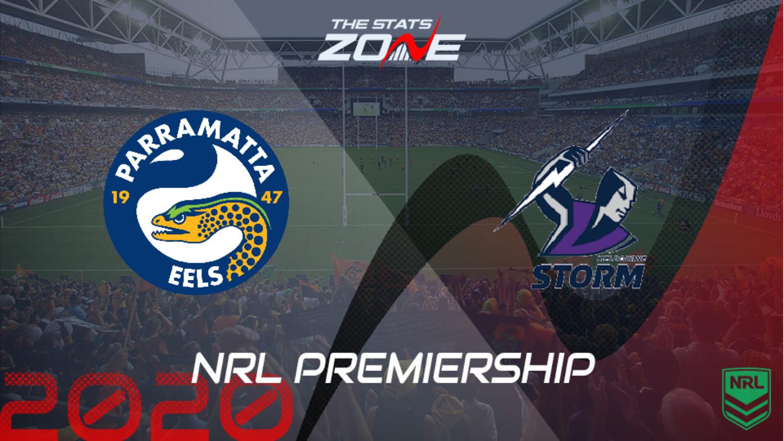 2020 Nrl Parramatta Eels Vs Melbourne Storm Preview Prediction The Stats Zone