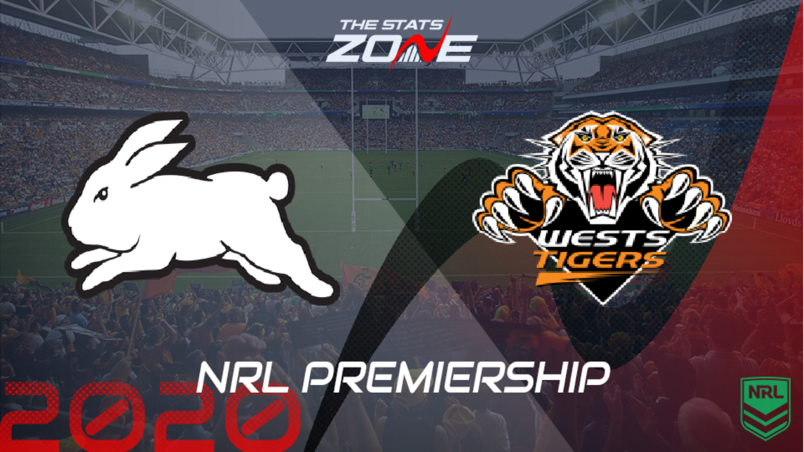 2020 Nrl South Sydney Rabbitohs Vs Wests Tigers Preview Prediction The Stats Zone