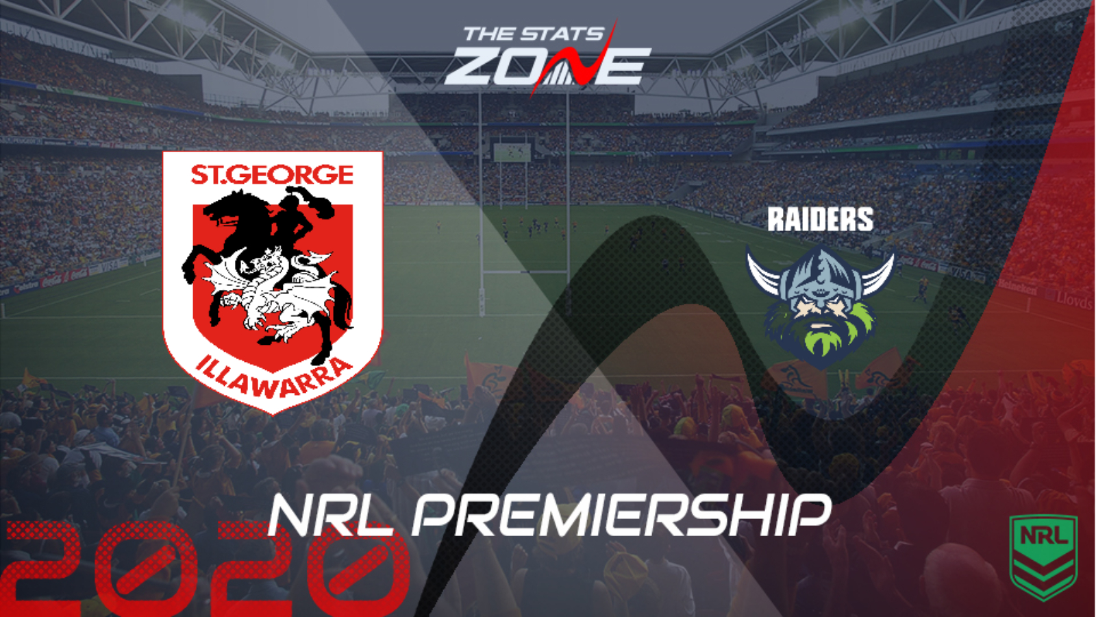 2020 Nrl St George Illawarra Dragons Vs Canberra Raiders Preview Prediction The Stats Zone