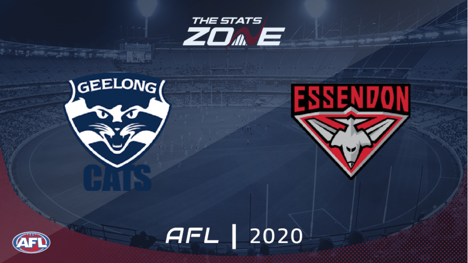 2020 Afl Geelong Cats Vs Essendon Preview Prediction The Stats Zone