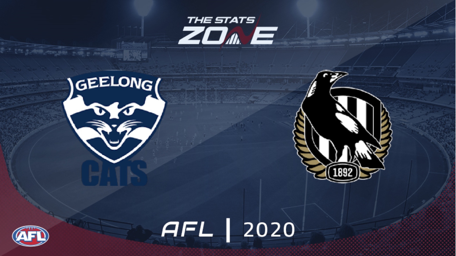 2020 Afl Geelong Cats Vs Collingwood Preview Prediction The Stats Zone