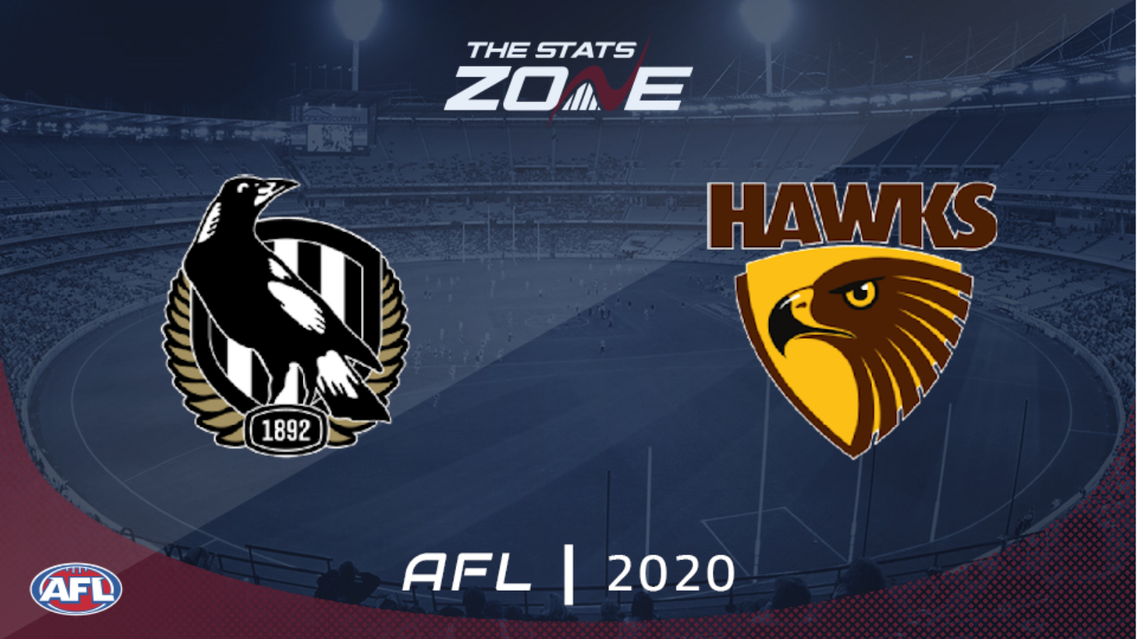 2020 Afl Collingwood Vs Hawthorn Preview Prediction The Stats Zone