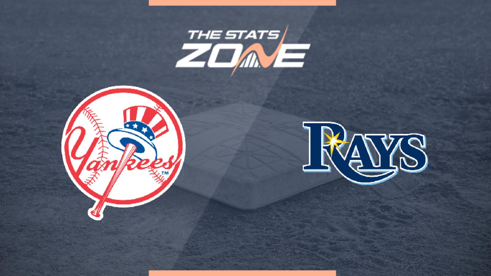 2019 Mlb New York Yankees Tampa Bay Rays Preview Prediction