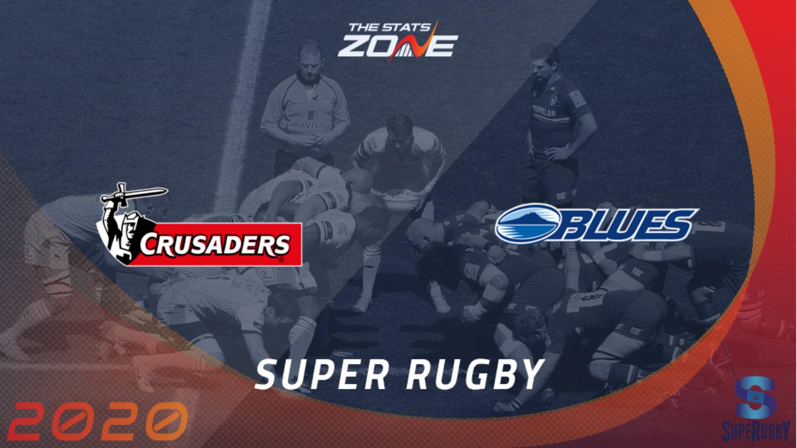 Crusaders vs Blues - Report - Super Rugby Aotearoa 2020 - 11 Jul, 2020