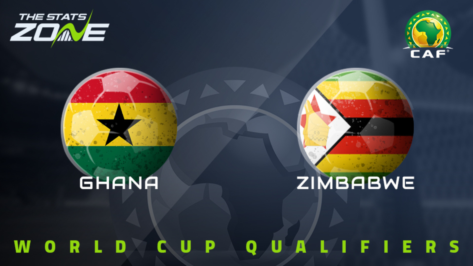 Ghana vs Zimbabwe CAF African World Cup Qualifiers