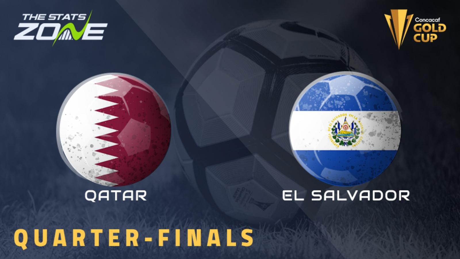 2021 Concacaf Gold Cup Qatar Vs El Salvador Preview Prediction The Stats Zone