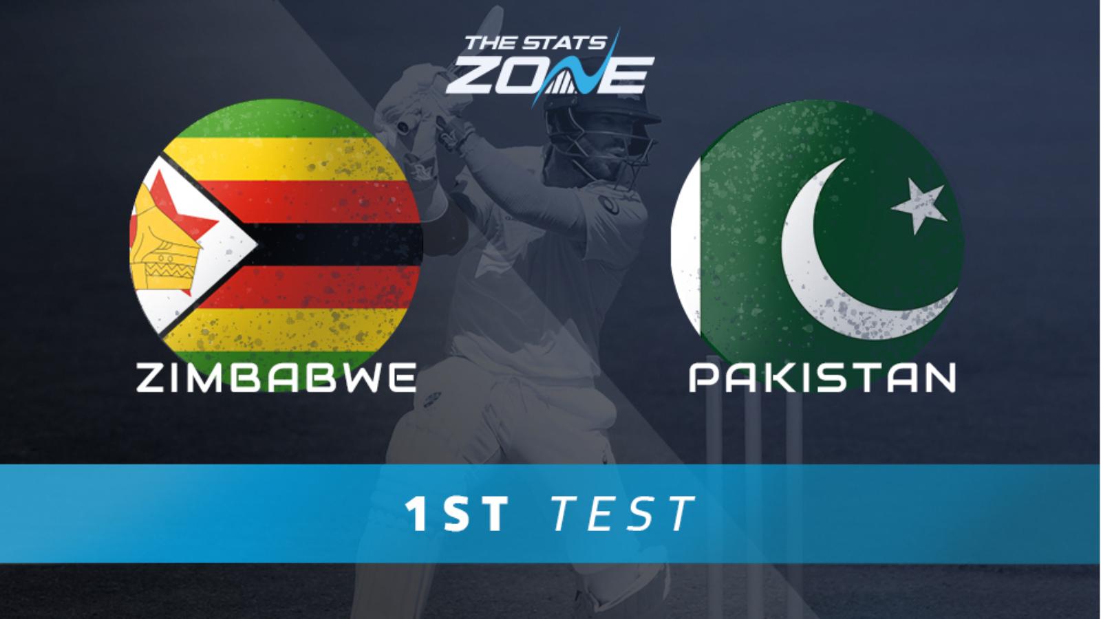 Zimbabwe vs Pakistan – 1st Test Preview & Prediction - The Stats Zone