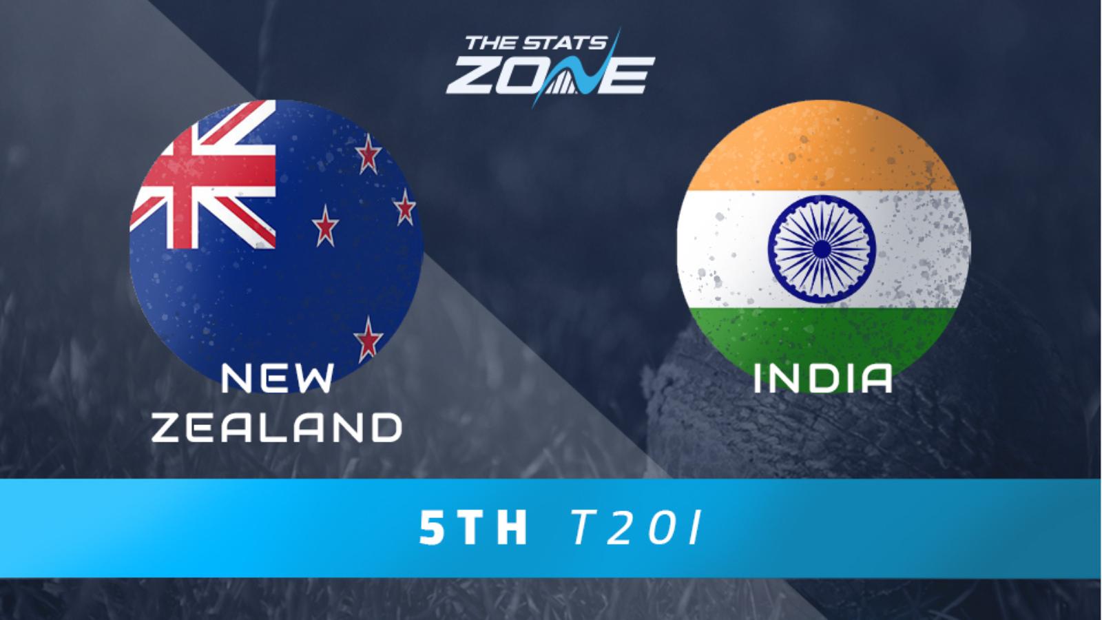 New Zealand vs India 4th T20I scorecard