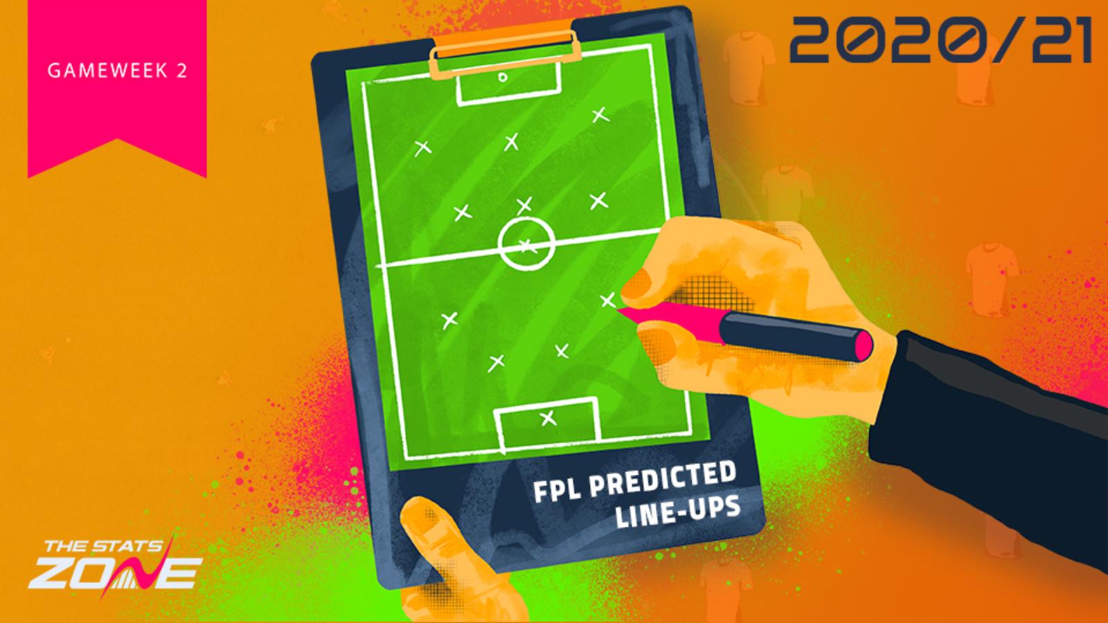 FPL Gameweek 2 – Fixtures, Team News & Predicted Line-ups ...