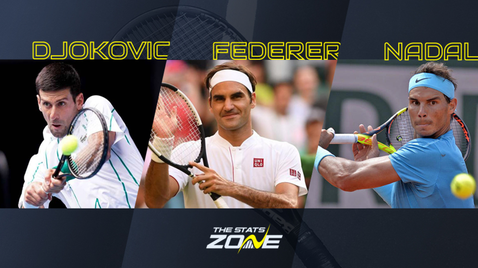 Federer Nadal Or Djokovic How Should We Decide Who Is The Best Of The Big Three The Stats Zone