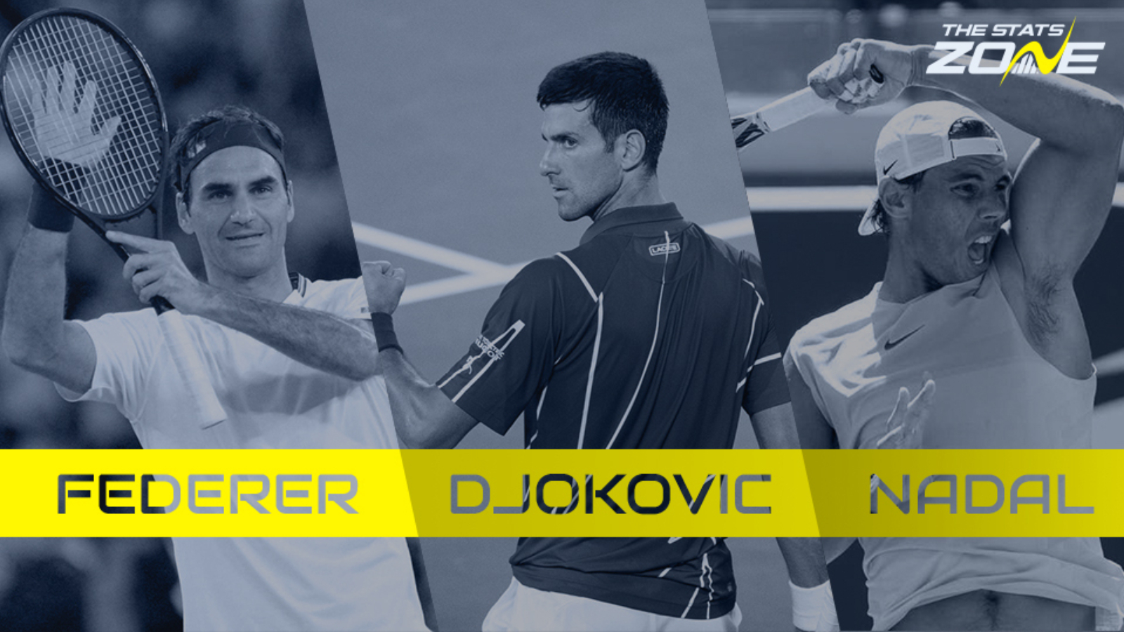 Federer Nadal Or Djokovic Who Was The Most Dominant In Their Peak The Stats Zone