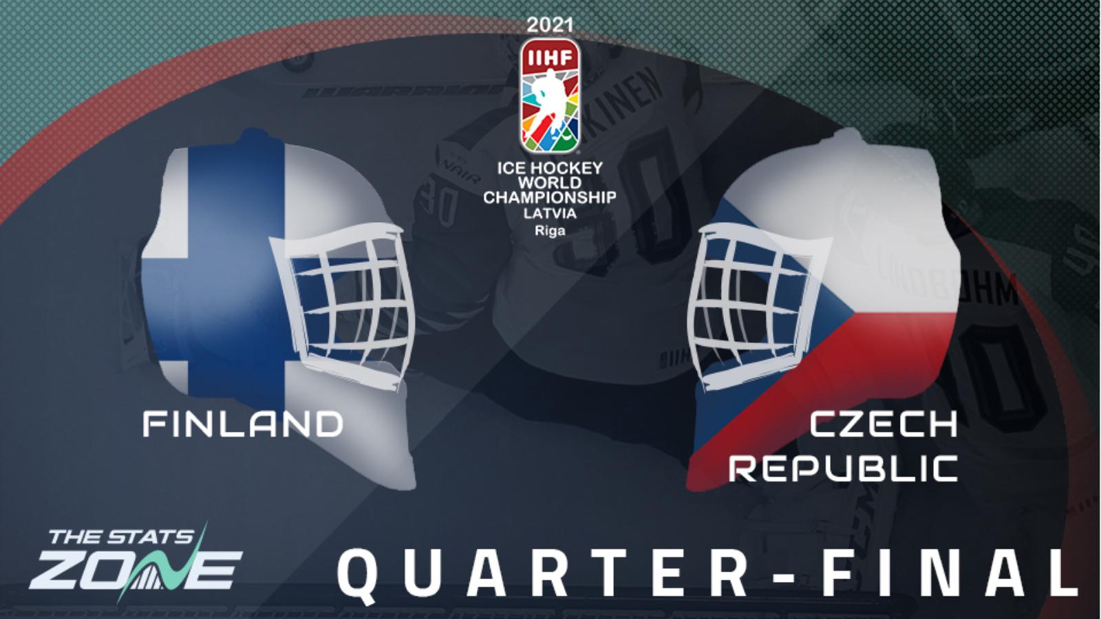2021 IIHF Ice Hockey World Championship – Finland vs Czech ...