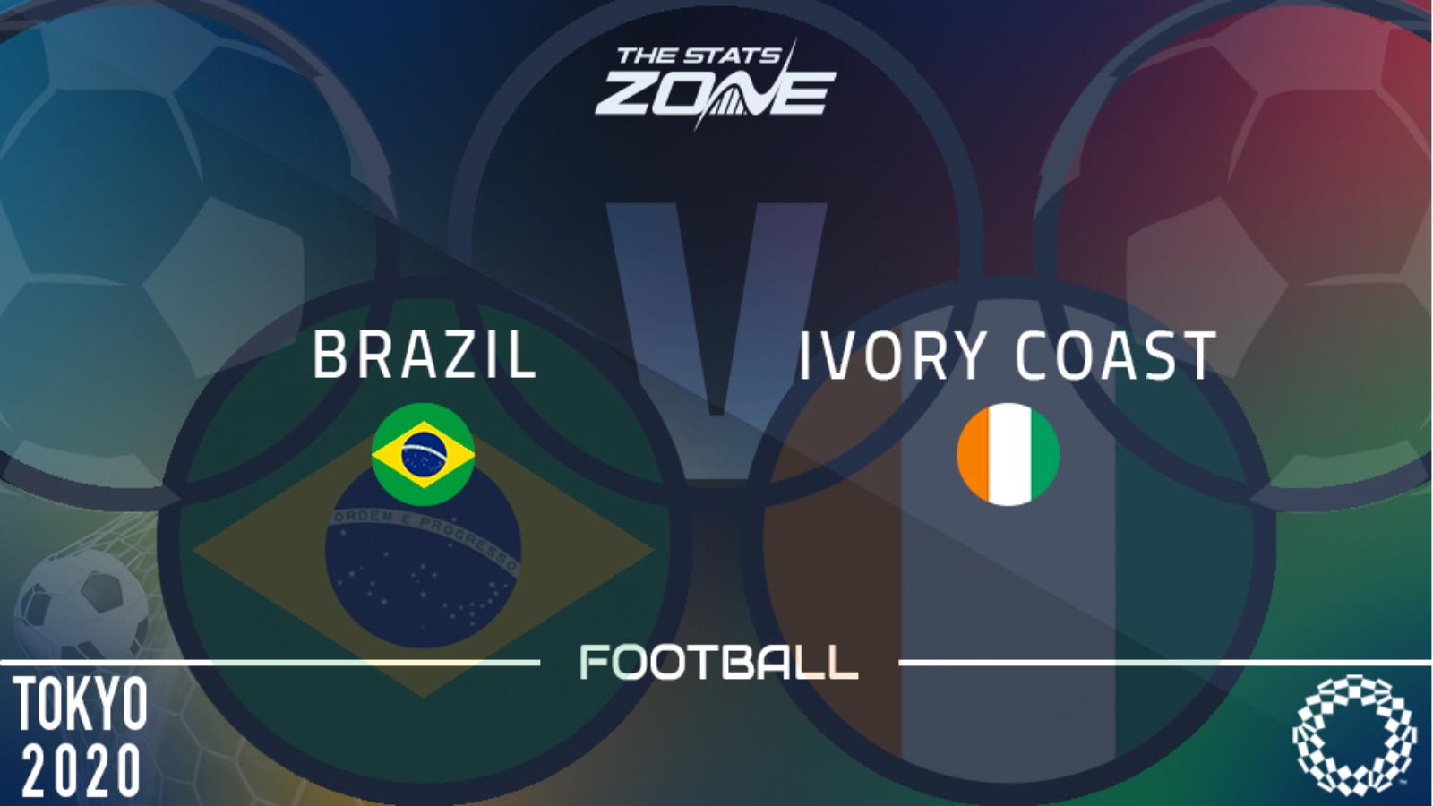 Brazil vs Côte d'Ivoire Highlights 25 July 2021