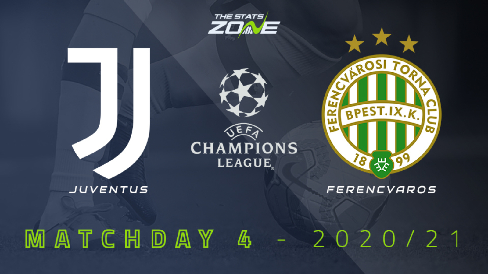 2020-21 UEFA Champions League – Juventus vs Ferencvaros Preview &  Prediction - The Stats Zone