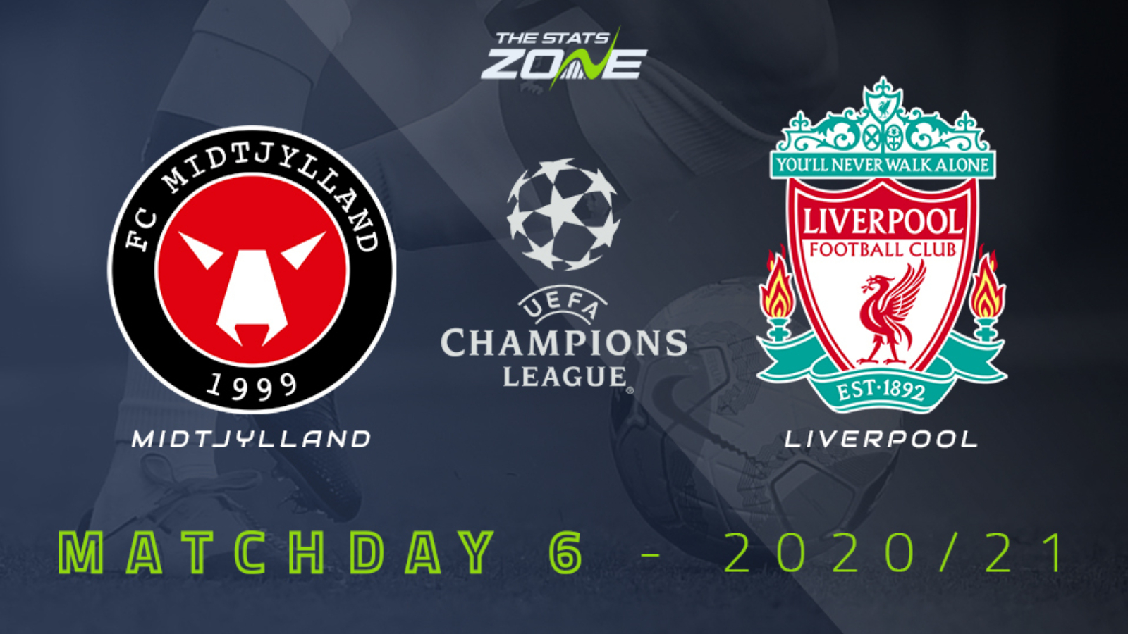 2020-21 UEFA Champions League – Midtjylland vs Liverpool Preview &  Prediction - The Stats Zone